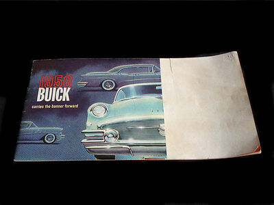 1956 Buick  Sales Catalogue With Color Plates Gmc
