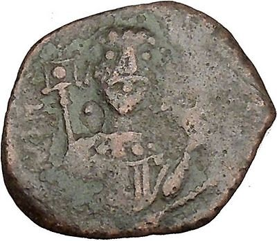 Manuel I, Comnenus 1143AD Ancient Medieval Byzantine Coin St. George i38379 RARE