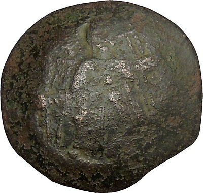 Issac II, Angelus 1185AD Ancient Byzantine Coin Virgin Infant Christ  i38380