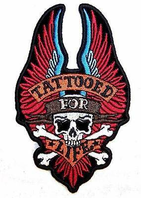 Tattooed For Life  High Quality Embroidered Patch