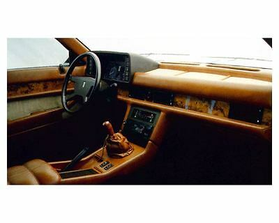 1985 Maserati Biturbo Interior Factory Photo uc5895