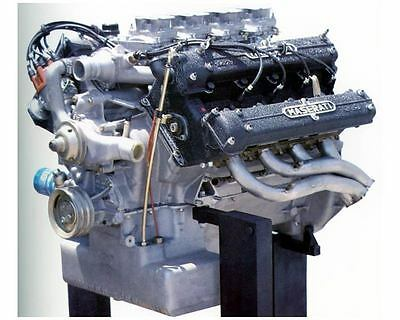 1985 Maserati Quattraporte Engine Factory Photo uc5899