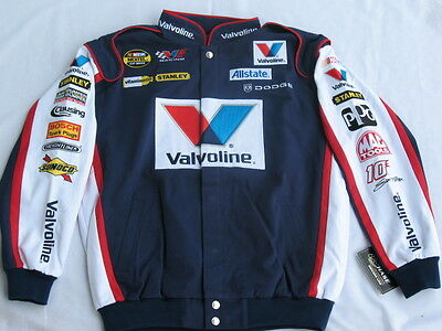 Scott Riggs Valvoline Cotton Twill X-LARGE Jacket By Chase!