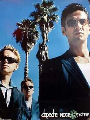 DEPECHE MODE 2001 exciter promotional poster NEW old stock Flawless condition