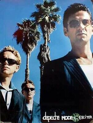 DEPECHE MODE 2001 exciter promotional poster ~NEW old stock MINT condition~!