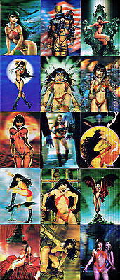 Vampirella 2012 Breygent Mini-Master Set With Binder