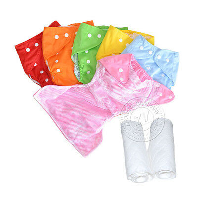 Summer Multicolor One Size Baby Infant Cloth Diaper Nappy Cover Insert U PICK