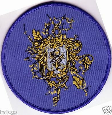 "Harry Potter - Goblet of Fire: Beauxbatons Round Crest 4"" Patch - HP054"