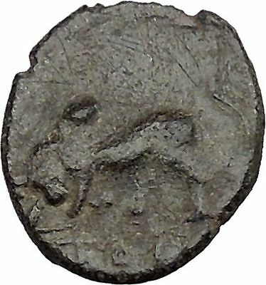 Greek city of Tralleis in LYDIA 2-1st Cen BC ZEUS Cult  BULL Ancient Coin i38466