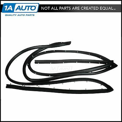 Sliding Door Seal Weatherstrip Rubber for 74-96 GMC Chevy Van