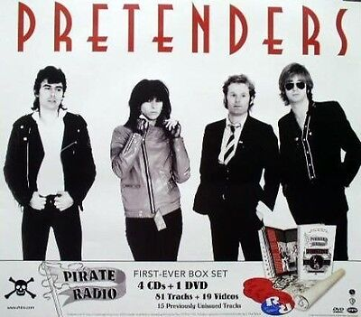 THE PRETENDERS 2006 pirate radio promotional poster ~MINT cond. NEW old stock~!!