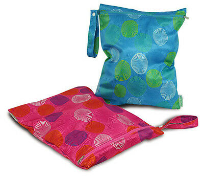 Bumkins Waterproof Reusable Washable Zippered Wet Bag