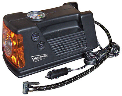 Car,Bike,Tyre & Object Inflator 12v 260 PSI Compact Air Compressor with Gauge