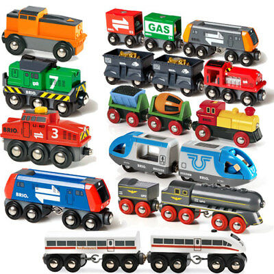 Brio Rolling Stock Engine Loco Train for Wooden Track Choose