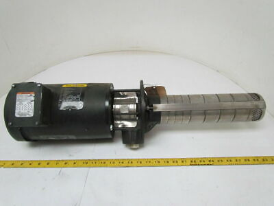 Grundfos SPK8-5/3 1.5 HP 3500 RPM Vertical Multistage Immersion Pump 42 GPM