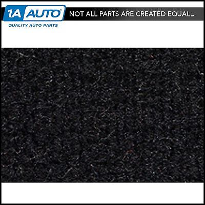 for 1974-76 Ford Bronco with Dual Fuel Tanks Cutpile 801-Black Complete Carpet