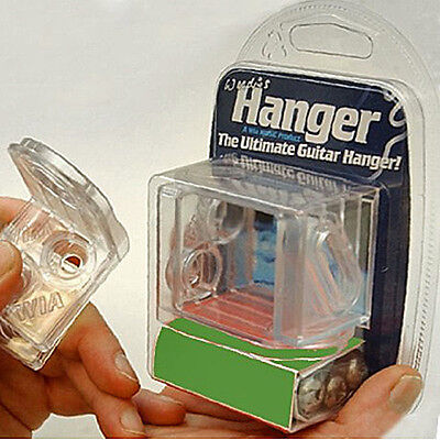 Woodies Clear Electric Guitar Hanger 2 for Les Paul type guitars
