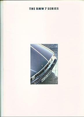 +++ Now Reduced +++ Bmw 7 Series E32 Sales Brochure 1992