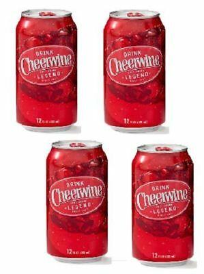Cheerwine Soda 4 Pack of 12oz Cans