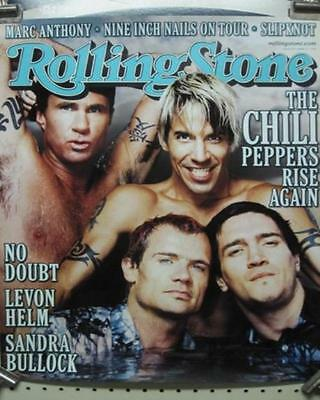 RED HOT CHILI PEPPERS 2000 Rolling Stone Magazine promo poster NEW old stock