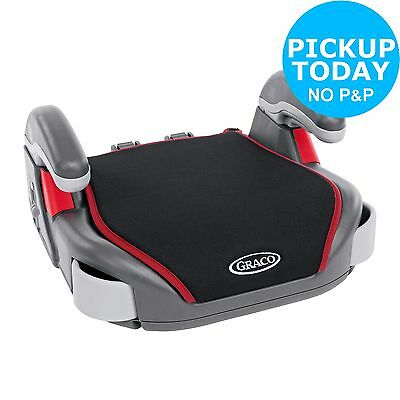 Graco Basic Booster Seat with Washable Cover & Two Cup Holders - Black :Argos