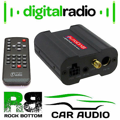 AutoDAB Lite Universal Car DAB and DAB+ Digital Radio Tuner Adaptor & Aerial