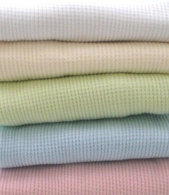 Cotton Waffle Thermal Receiving Baby Blanket by American Baby Company