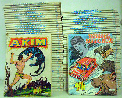Akim 1/84 + Supplemento N 62 - Serie Completa !!!!!