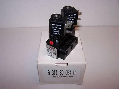 Ingersoll Rand Aro A311Sd-024D Solenoid Valve New In Box