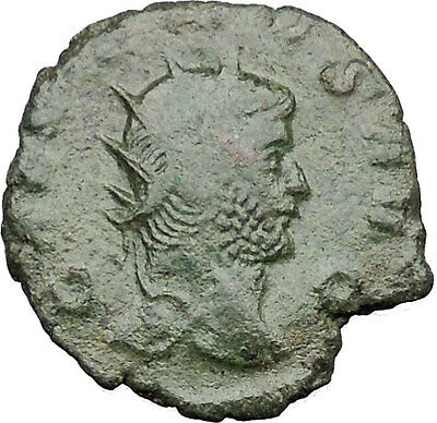 Gallienus son of Valerian I Ancient   Roman Coin Securitas Cult  i32469