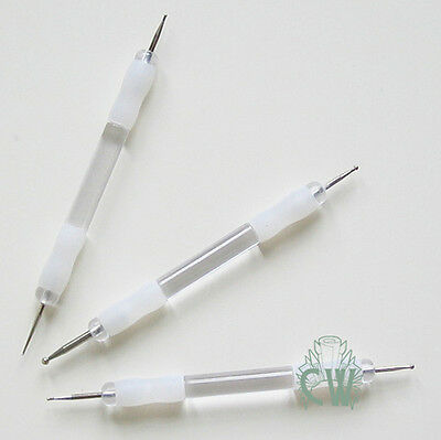 Set of 3 Soft Grip Embossing Tools. Stylus Tools for Art & Craft.