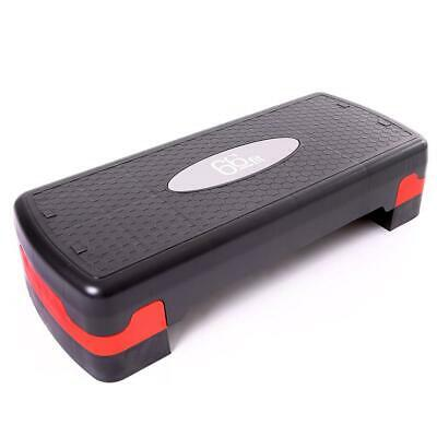 66fit Aerobic Step - Gym Workout Exercise Fitness Bench Stepper