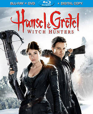 Hansel & Gretel: Witch Hunters (Blu-ray Disc, 2013, Unrated)