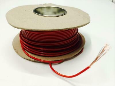 17.5Amp Red Electrical Cable For House Diy Loom Flex Repair - Single Core - 5M