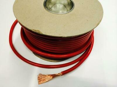 1M Red Single Core Cable 60 Amp For Kit Car Cabling Connect