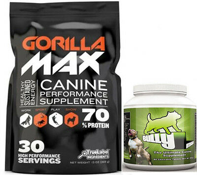 GORILLA MAX 15 DAY & BULLY MAX 60 DAY COMBO. **AUTHORIZED SELLER**