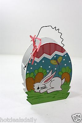 Holiday happy easter egg shaped gift box home decoration chick holiday happy easter egg shaped gift box home decoration bunny carrot patch negle Images