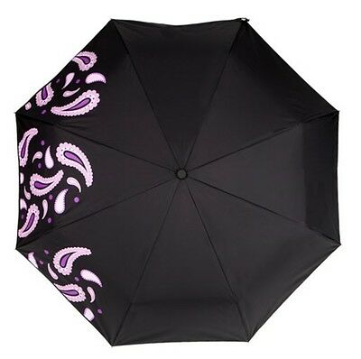 Cheeky Shopping Weather Message Compact Automatic Open Close Folding Umbrella