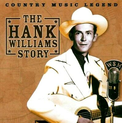 The Hank Williams Story Country + Western New Sealed Cd Best Of / Hits 20 Tracks