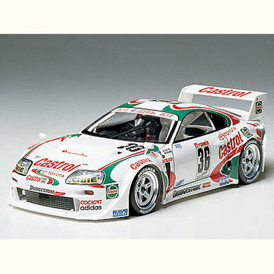 TAMIYA 24163 Castrol Toyota Tom's Supra GT 1:24 Car Model Kit