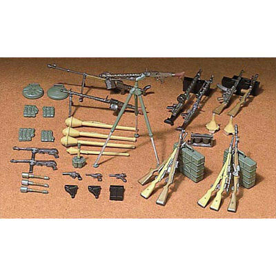 TAMIYA 35111 German Infantry Weapons 1:35 Military Model Kit