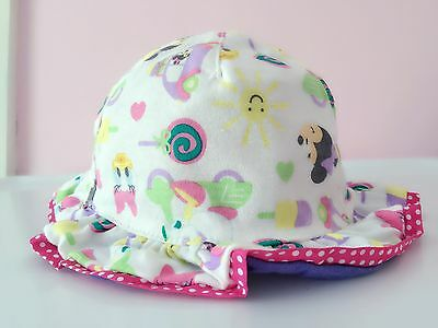 Girls kid Baby Child Beach Travel Donald Minnie Mouse Cotton Bucket Sun Hat  Cap 6c9450214d4c