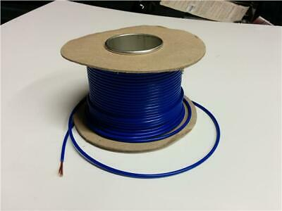 5M Blue Single Core Cable 17.5 Amp Rewire Electrical Component / 12V Relays