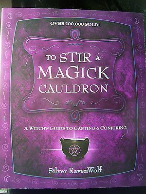 Brand New! To Stir A Magick Cauldron Wicca Casting & Conjuring Part 2 Of Series