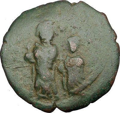 Heraclius & Heraclius Constantine 610AD Medieval Ancient Byzantine Coin i38931