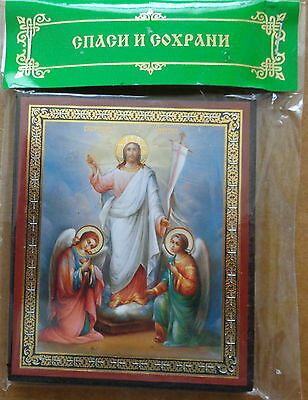Russian wood icon  Resurrection of Christ  #2