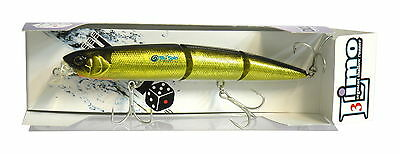 NEW Limo Dice Lures Segment Shallow Runner125mm 17,5gr Floating Col: 22100 JAPAN