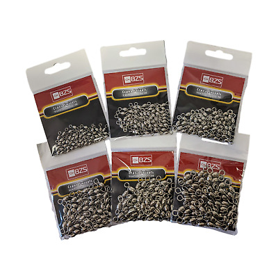 Pack of 50 Rolling Crane swivel available in size 6,4,2,1,1/0,2/0 sea fishing