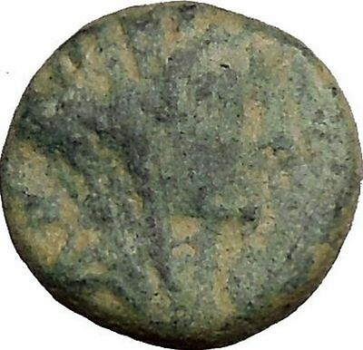 TYRE PHOENICIA Tyche Astarte Ishtar Galley Ship 50AD Ancient Greek Coin i38543