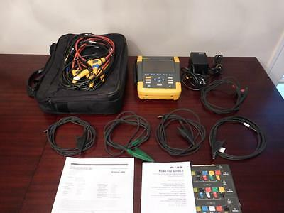 Fluke 435-II Series 2 Three-Phase Power Quality and Energy Analyzer - Pristine!